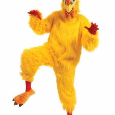 Kwaliteit kippen carnavalskleding volwassenen