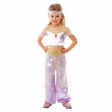Kwaliteit paars Arabische prinses carnavalskleding