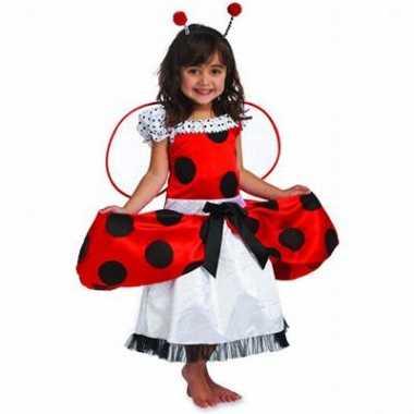 Lieveheersbeestje kinder carnavalskleding