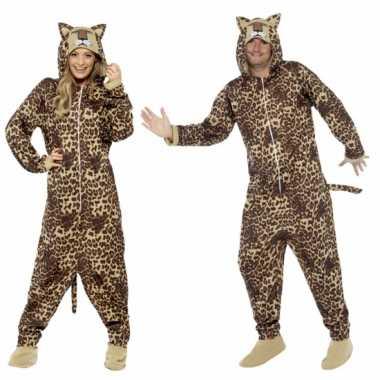 Luipaard huis carnavalskleding volwassenen