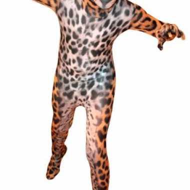 Luipaarden morph carnavalskleding