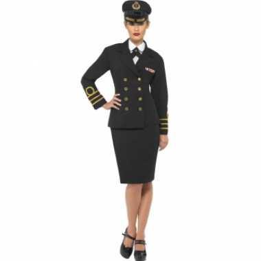 Marine officier dames carnavalskleding