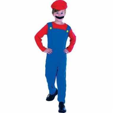 Mario carnavalskleding kind