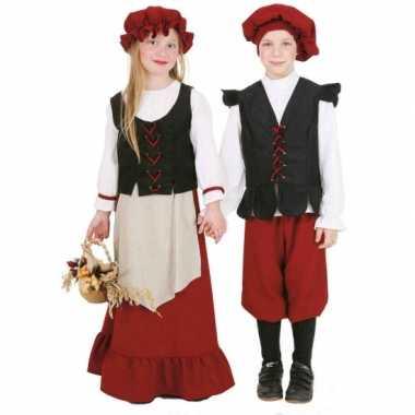 Middeleeuws carnavalskleding kind