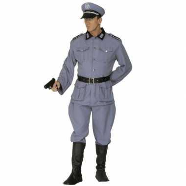 Militairen uniform carnavalskleding