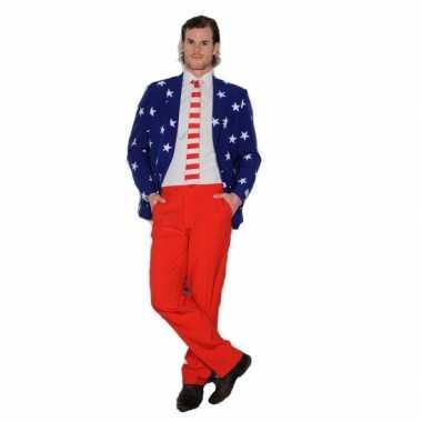 Net carnavalskleding Amerikaanse vlag
