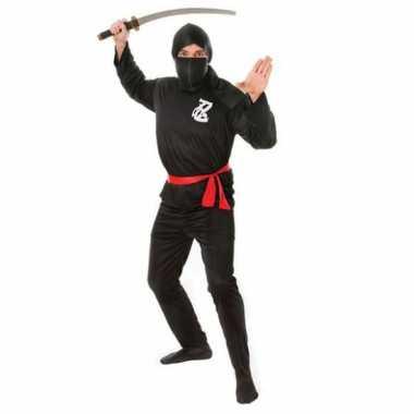 Ninja carnavalskleding heren