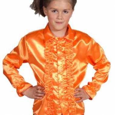 Orane blouse rouches kids carnavalskleding