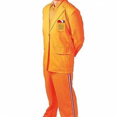 Oranje bobo carnavalskleding