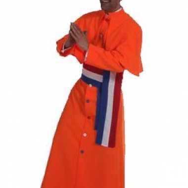 Oranje kardinaal carnavalskleding