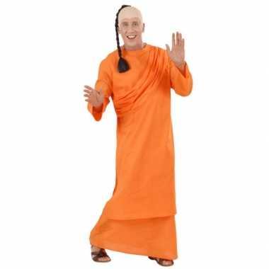 Oranje Tibetaanse monnik carnavalskleding
