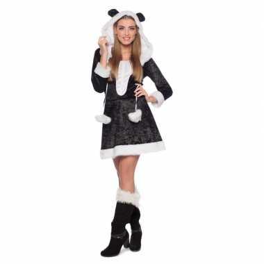 Panda dieren carnavalskleding dames