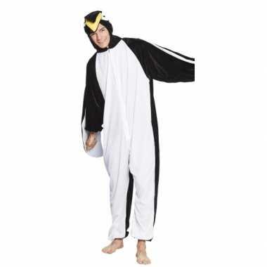 Pinguin onesie kids carnavalskleding