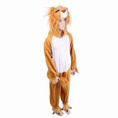 Pluche leeuwen carnavalskleding kind