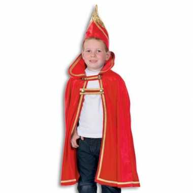 Prins kinder cape hoed carnavalskleding