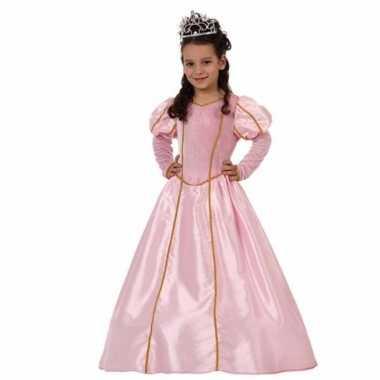 Prinsessen carnavalskleding meises roze