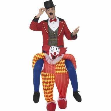 Ride on carnavalskleding clownscarnavalscarnavalskleding volwassenen
