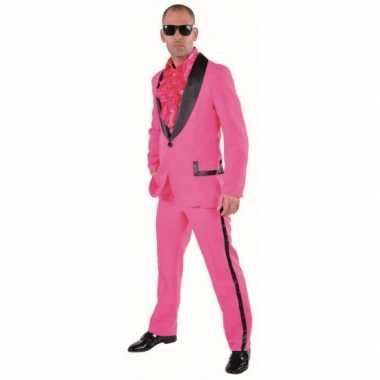 Roze carnavalskleding heren