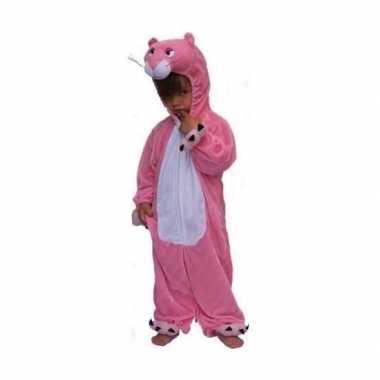 Roze panter kinder carnavalskleding pluche