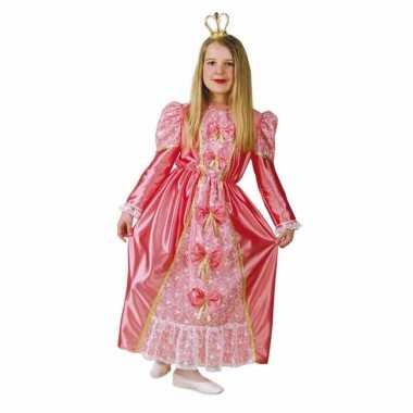 Roze prinsessen carnavalskleding kind