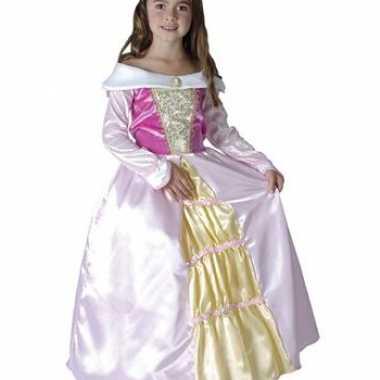 Roze prinsessen carnavalskleding