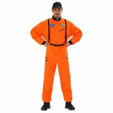 Ruimtevaart carnavalskleding orane heren