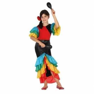 Samba/rumba/flamenco dans carnavalskleding meises