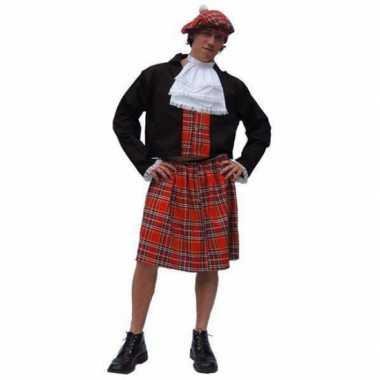 Schots heren carnavalskleding