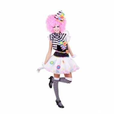 Sexy clown carnavalskleding dames