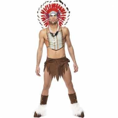Sexy indianen carnavalskleding heren