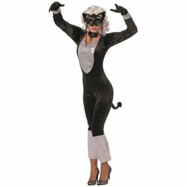 Sexy katten carnavalskleding dames