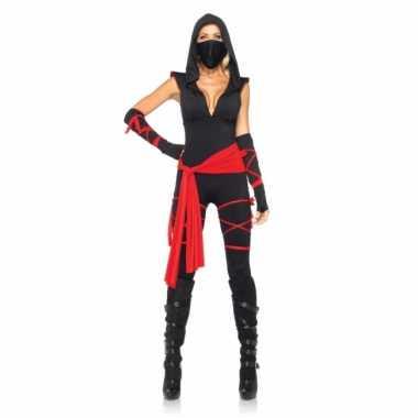 Sexy ninja carnavalskleding dames
