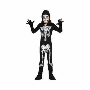 Skelet carnavalskleding kind