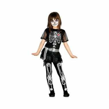 Skelet juwelen kind carnavalskleding