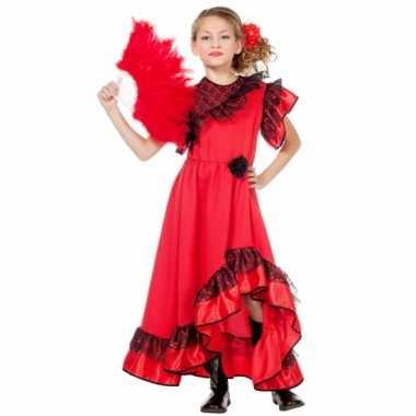 Spaanse Carmen carnavalskleding kind
