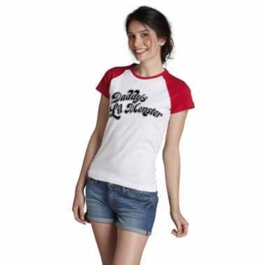 Suicide squad shirt carnavalskleding dames