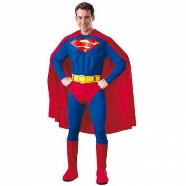 Superman carnavalskleding volwassenen