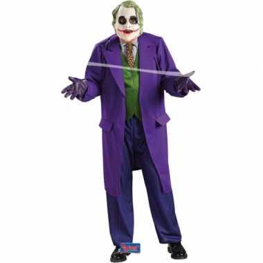 The Joker carnavalskleding heren