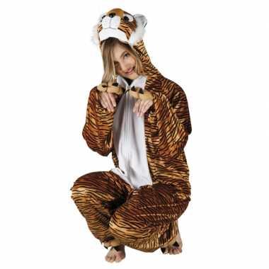 Tiger onesie carnavalskleding