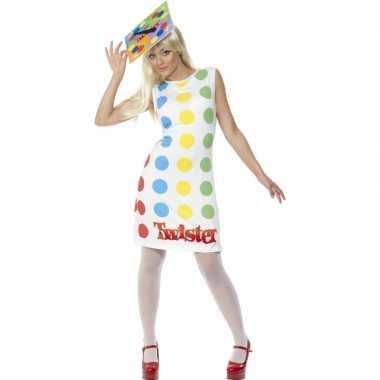Twister carnavalskleding vrouwen