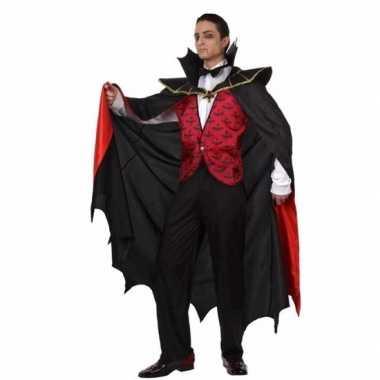 Vampier carnavalskleding mantel