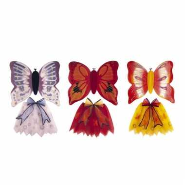 Vlindersetje kind carnavalskleding