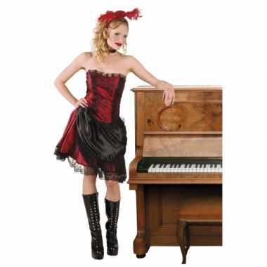 Wilde westen carnavalskleding saloongirl