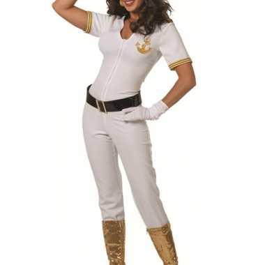 Witte marine carnavalskleding dames