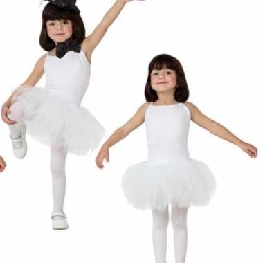 Witte tutu kind carnavalskleding