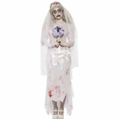 Zombie bruid carnavalskleding