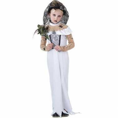 Zombie bruid kind carnavalskleding