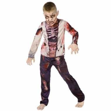 Zombie carnavalskleding kind