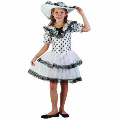 Zuidelijke Belle carnavalskleding kind