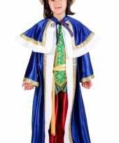 De drie wijzen blauw carnavalskleding kind